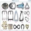 Boucle décorative faite sur commande de sac en métal de prix usine