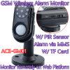 Smart Photo MMS alarme câmera GSM Wireless Home Security Vigilância PIR Anti-assaltante Monitor de W / Rastreamento On-line