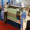 los 340cm máquina de materia textil del telar del jet del aire de la leva de 10 ejes con el alimentador Weft electrónico doble