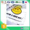 La bolsa de plástico feliz de la cara del precio de fábrica para el supermercado