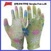 PU покрыл трудные защитные перчатки работы Guantes (PU 1003)