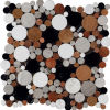 Marble meraviglioso Mosaic Wall Mosaic Tile in 2015 (J 1321)