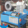 Facile d'utiliser le boyau hydraulique de haute précision appuyant la machine sertissante