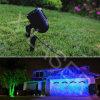 De luz láser de luz láser verde y azul al aire libre Jardín / Paisaje para la decoración de Luz