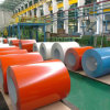 Bobina de acero cubierta color material del Galvalume de la fabricación (0.15mm-0.8m m) PPGL