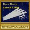21pins 28.3cm Roland Fj500 / 600 Cable de la Cabeza