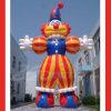 Riesiges aufblasbares Karikatur-Clown-Zeichen (BMCT11)