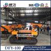 prijs van de Machine van de Boring van het Gat van de Ontploffing van Harde Rots dfy-100 de Volledige Hdyraulic van 100m voor Verkoop