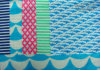 Nylon Taslon F/D Fabric с Peach Printing