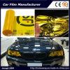 Il vinile giallo autoadesivo della tinta dell'automobile della pellicola del faro dell'automobile di colore filma 30cmx9m