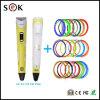 2016 Sekの新しい3Dペン男の子の芸術のための立体3Dプリントペン