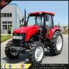 tractor hidráulico de la rueda del tractor de granja de 90HP 4WD