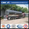 petrolero líquido de la aleación de aluminio de 49.5cbm Cimc Huajun con el árbol de BPW