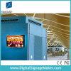 19  1080P LCD que hacen publicidad de la exhibición, haciendo publicidad del tablero