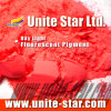 Rouge fluorescent léger de colorant de jour pour la pâte de couleur d'impression de tissus