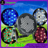 Outdoor LED DMX PAR 64 DJ Luz Palco Disco