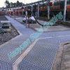 Spezieller kratzender Stahlgehweg für Bahngebrauch