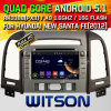 Carro DVD do Android 5.1 de Witson para Hyundai Santa Fe novo (2012) (W2-A7088) com sustentação do Internet DVR da ROM WiFi 3G do chipset 1080P 8g