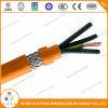 Conduttore di rame nudo PE/PVC con il cavo elettrico dell'intrecciatura del motore del cavo di rame del collegamento ed il cavo di alimentazione flessibili in scatola generali