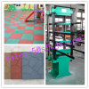 Recycleer de RubberPers van Tilehydraulic van de Vloer van de Machine van Matsvulcanizing van de Tegel van de Vloer Rubber