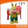 Iniziare la mascotte gonfiabile C1-212 del fumetto del coniglio di affari