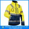 Куртка бомбардировщика обеспеченностью визави работы безопасности OEM Hi с печатание