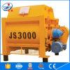 De tweeling Schacht Js3000 weegt het Groeperen Concrete Mixer