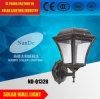 Luz solar de la pared LED de la seguridad de gran alcance solar inoxidable