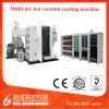Máquina de capa del vacío PVD del cromo/del oro/del oro de Rose para el vajilla, las piezas de automóvil y otros productos