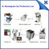 Pequeña línea de envasado rectangular semi automática de la poder del aceite de oliva
