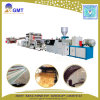 Dekoratives Kurbelgehäuse-Belüftungkünstliches Faux-Marmor-Blatt-Panel-Plastikextruder-Maschinerie