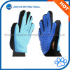 Outils de toilettage d'animal familier, Deshedding, solvant de cheveu/fourrure, deux types de gants