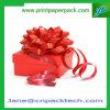 Rectángulo de papel de empaquetado de encargo del rectángulo del rectángulo de regalo del sostenedor de la cinta