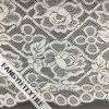 Grande tessuto squisito del merletto del cotone del fiore per il vestito