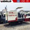 米およびムギのゴム製トラックが付いている小さいコンバイン収穫機