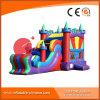 2017 Nuevo castillo inflable del diseño combinado con la diapositiva (T3-520)