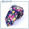 Impression de fleurs Eco-Friendly Cravate à la main en laine à la main