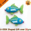 동물성 선물 (YT 물고기)를 위한 열대 물고기 관례 PVC USB 지팡이