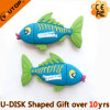 Vara tropical do USB do PVC do costume dos peixes para os presentes animais (YT-Peixes)