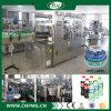 Máquina de etiquetas quente do derretimento das garrafas de água minerais automáticas cheias
