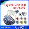 Bastone di memoria del USB del cuore dei monili del regalo dei 2016 commerci all'ingrosso