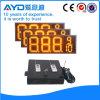 Hidly el panel electrónico del precio de la gasolina del amarillo LED de 12 pulgadas