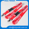 Cheap Custom Keychains Lanyards Neck Strap Heat Transfer Logo Strap