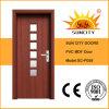 卸し売り単一のガラスドア内部PVCドア(SC-P059)