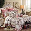 Super SOFT Velour & 3D garen-Dyed Jacquard &Comforter 8 PCs Set (sh16006-3)