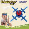 Brinquedo modelo do bloco de apartamentos da instrução de DIY para crianças