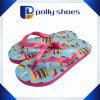 2016명의 새로운 디자인 우연한 평지 여자 플립 플롭 사탕 색깔