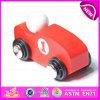 Baixo carro de madeira para miúdos, carro de madeira dos brinquedos do preço barato mini do brinquedo do projeto novo mini para as crianças W04A175
