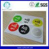 Etiqueta de cobre del pegamento RFID del papel Ntag216 Nfc