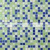 tegel van het Mozaïek van het Glas van de Badkamers van de Mengeling Green&Blue van 15X15mm de Smeltende (BGC029)